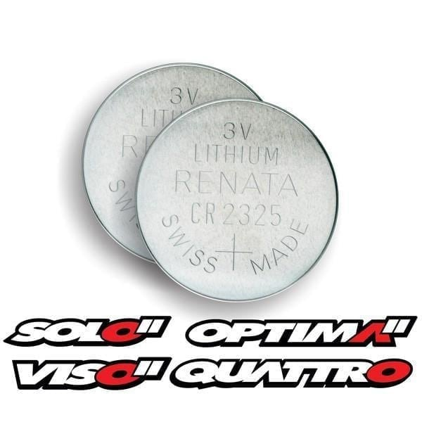 CR 2325 Batteries - SOLO / OPTIMA / VISO / QUATTRO & ARES